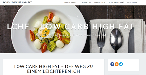LCHF - Low Carb High Fat