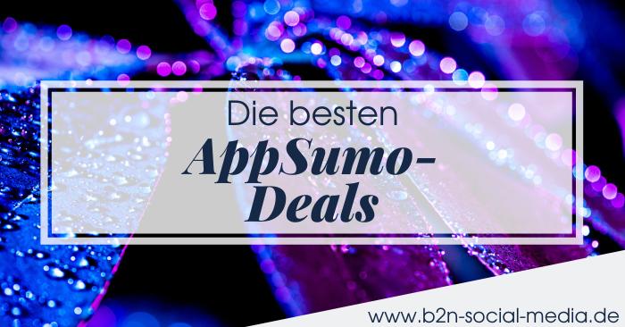 Die besten AppSumo-Deals