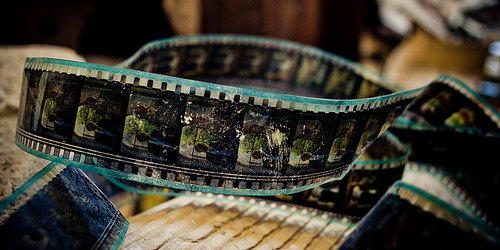 Beim Videoschnitt entsteht der fertige Film