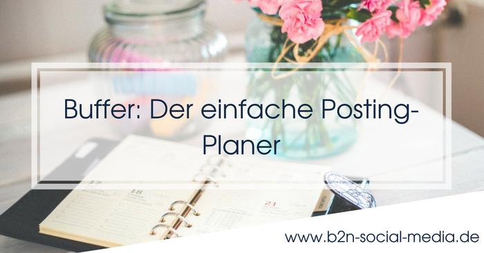 Buffer: Der einfache Posting-Planer