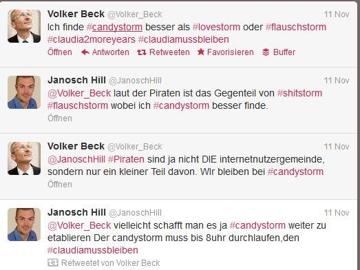 Volker Beck - Diskussion Flausch oder Candy