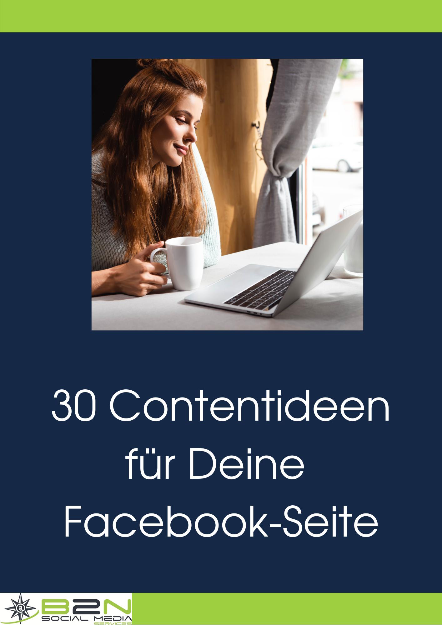 30 Contentideen für Facebook