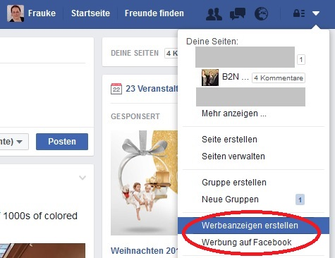 Facebook Ads erstellen