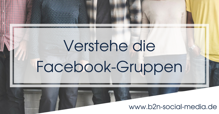 Verstehe die Facebook-Gruppen