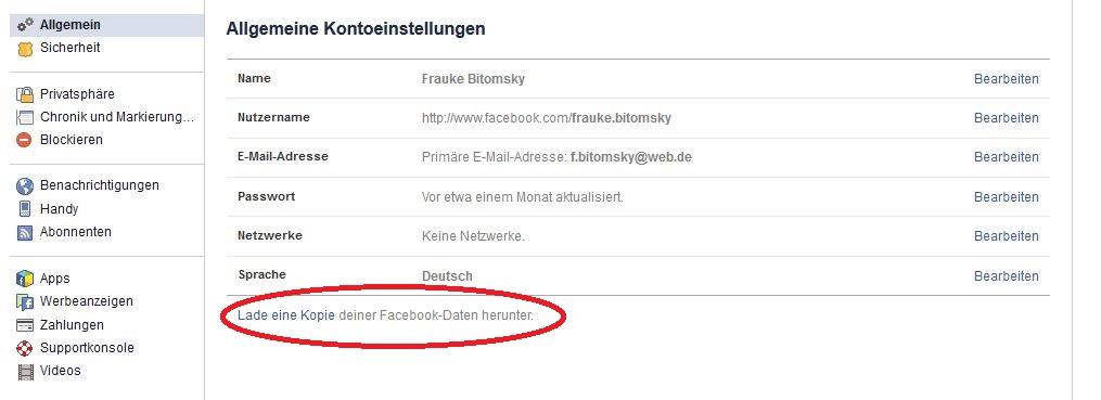 So geht's: Facebook-Profil in Seite umwandeln