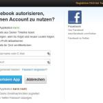 Facebook mit Twitter verbinden_App autorisieren