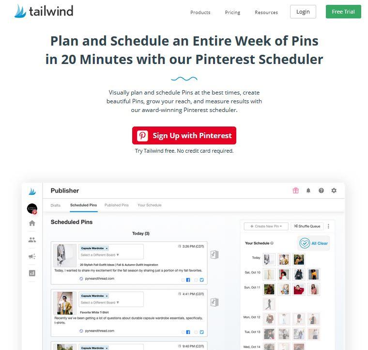 Tailwind: So automatisierst Du Deine Pinterest-Betreuung - zeitsparend und günstig!