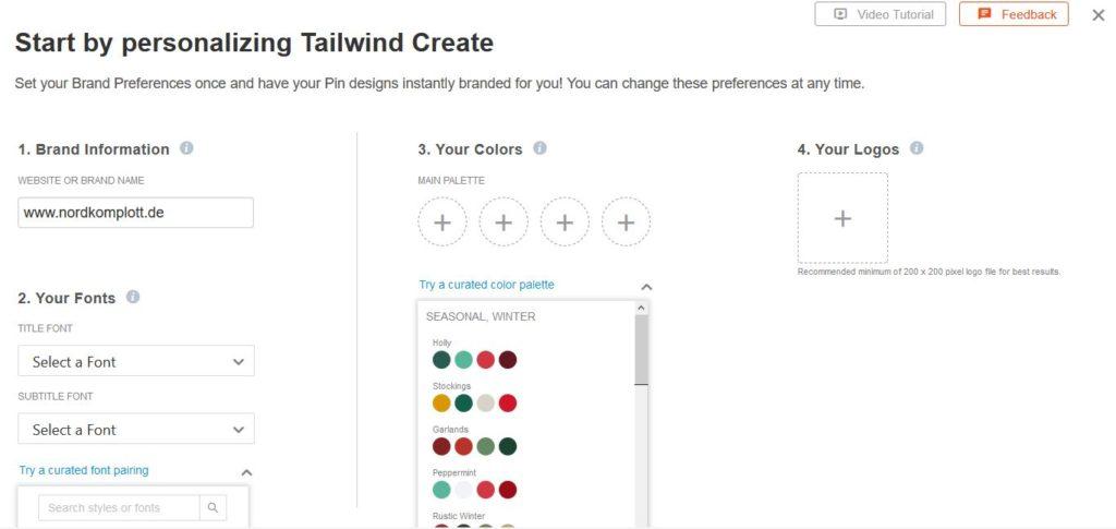 Tailwind Create: Die Canva-Alternative zur Pin-Erstellung?