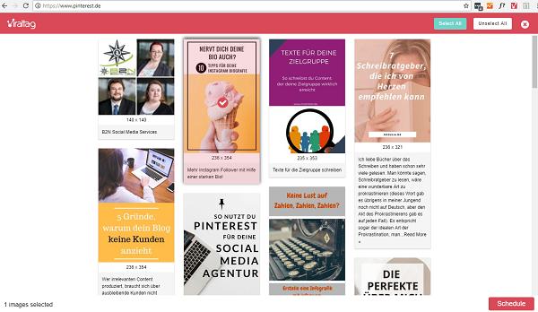 Viraltag: So automatisierst Du Deine Pinterest-Betreuung - günstig oder gratis!