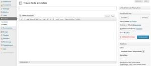 Wordpress Seiten erstellen