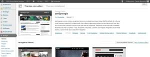 Wordpress Themes installieren