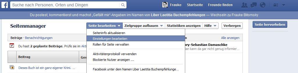 Es gibt ein neues Facebook-Design